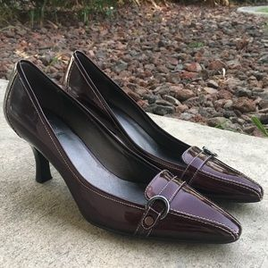 JOAN & DAVID 9 [Fits Size 8!] Burgundy Rootbeer